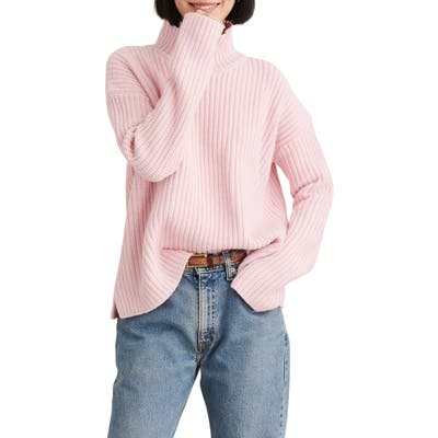 Alex Mill Seattle Merino Wool & Cashmere Sweater, Pink