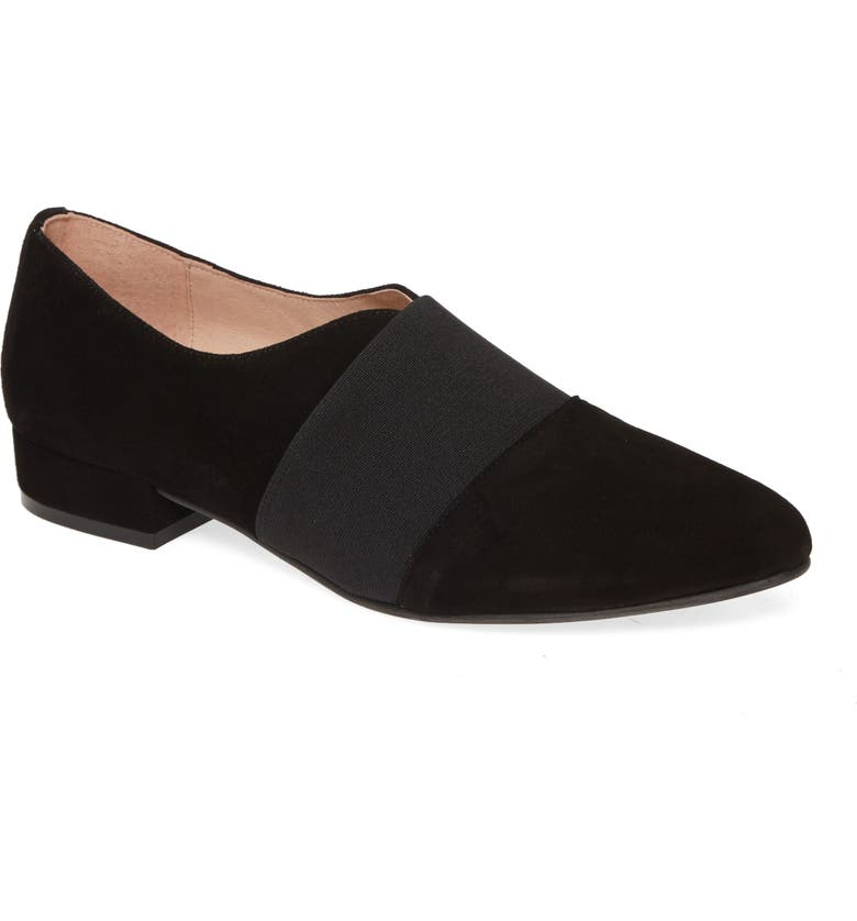 PATRICIA GREEN Aynsley Loafer, Main, color, BLACK SUEDE