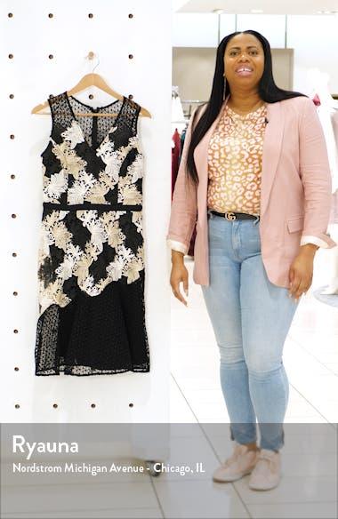 Lizette Lace Midi Dress, sales video thumbnail
