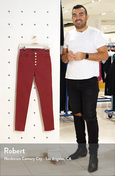 The Charlie High Waist Skinny Jeans, sales video thumbnail