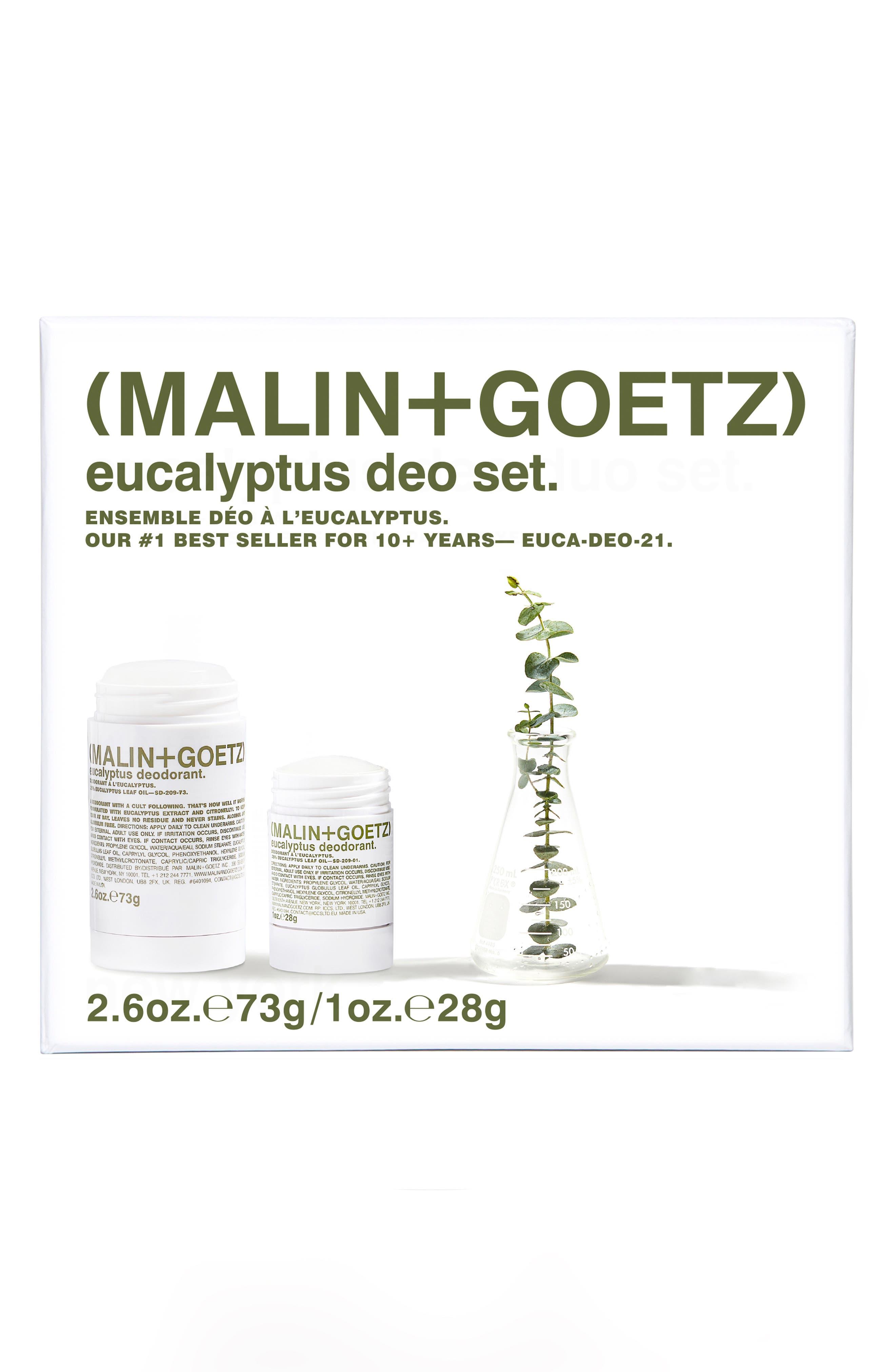 Malin+Goetz Eucalyptus Deodorant Set-$36 Value (Nordstrom Exclusive)