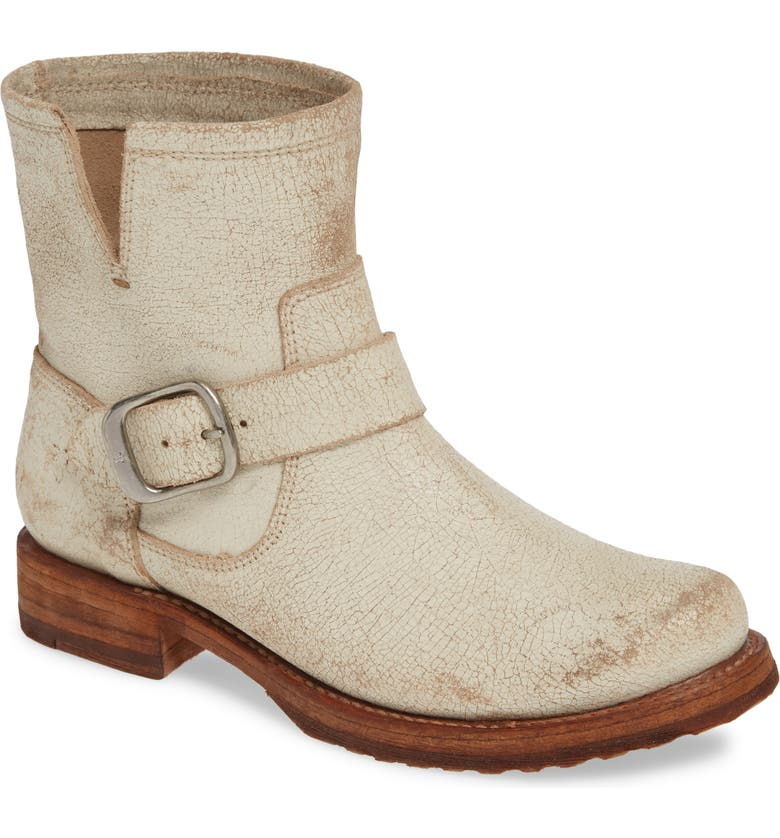 FRYE Veronica Bootie, Main, color, OFF WHITE