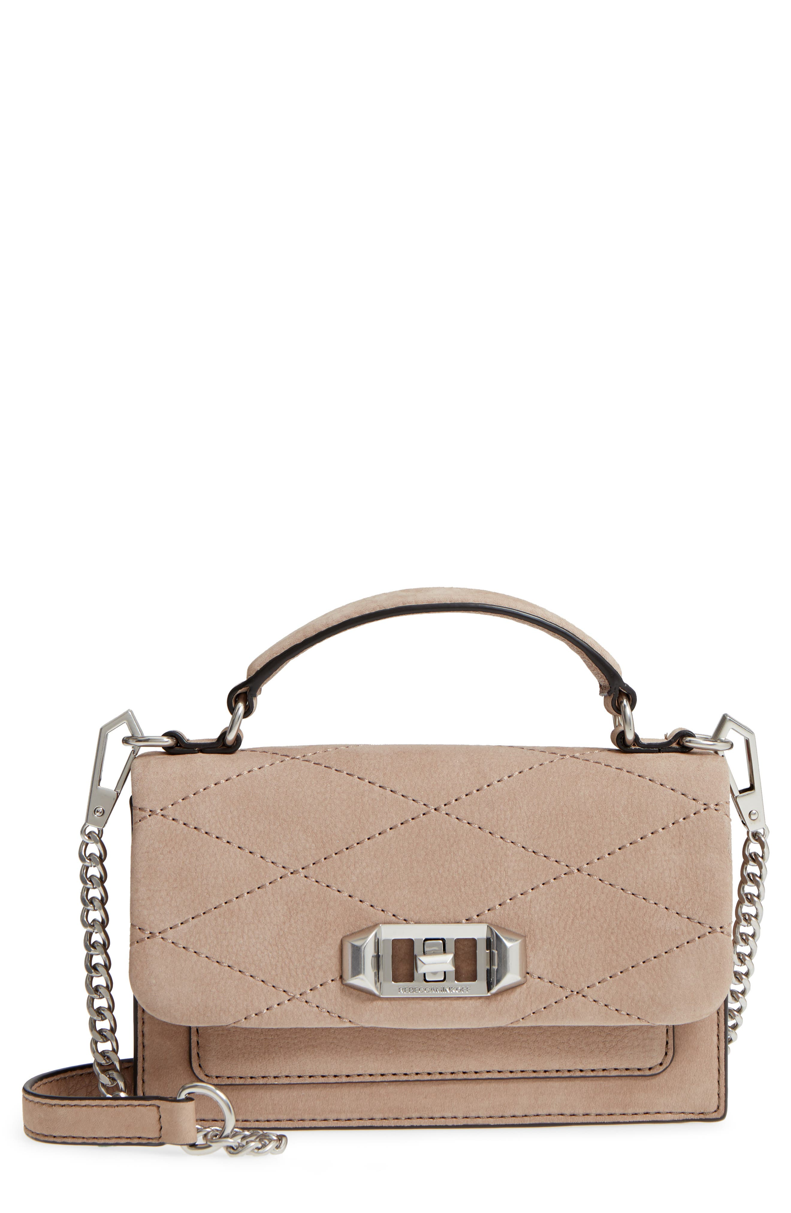 Image of Rebecca Minkoff Small Je T'aime Leather Crossbody Bag