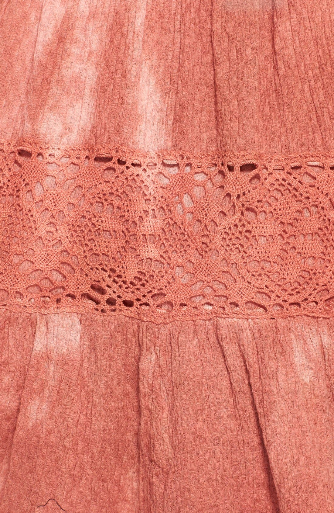 ,                             'Pippa' Gauze Fit & Flare Dress,                             Alternate thumbnail 2, color,                             800