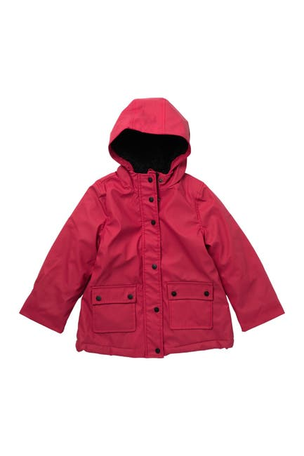 Image of Urban Republic Woobie Lined Water Resistant Rain Jacket