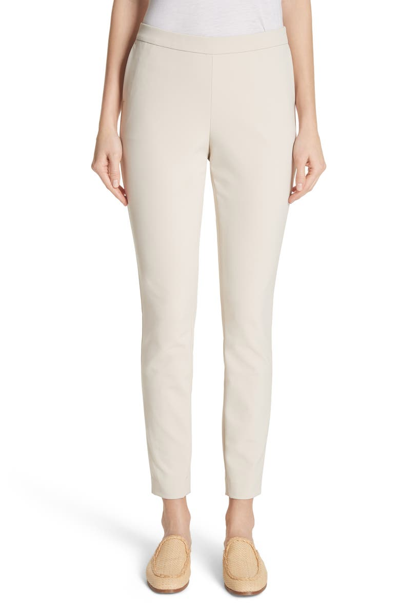 LAFAYETTE 148 NEW YORK Murray Crop Pants, Main, color, SAND