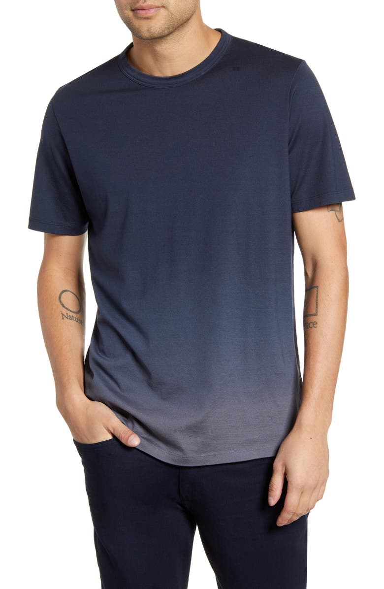 THEORY Essential Chroma T-Shirt, Main, color, ECLIPSE/ REEF