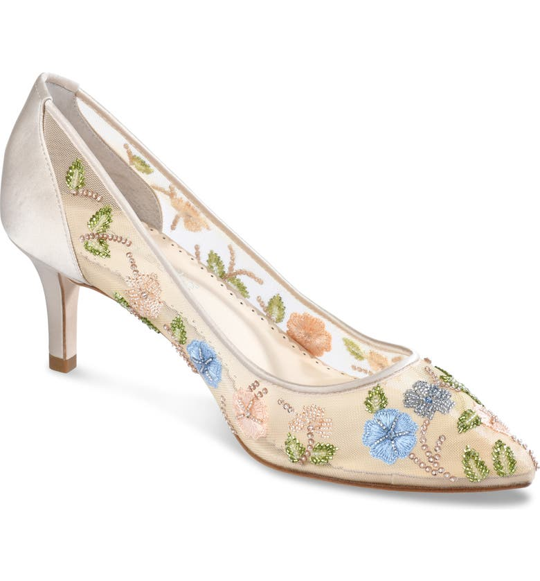 BELLA BELLE Sierra Pump, Main, color, NUDE SILK