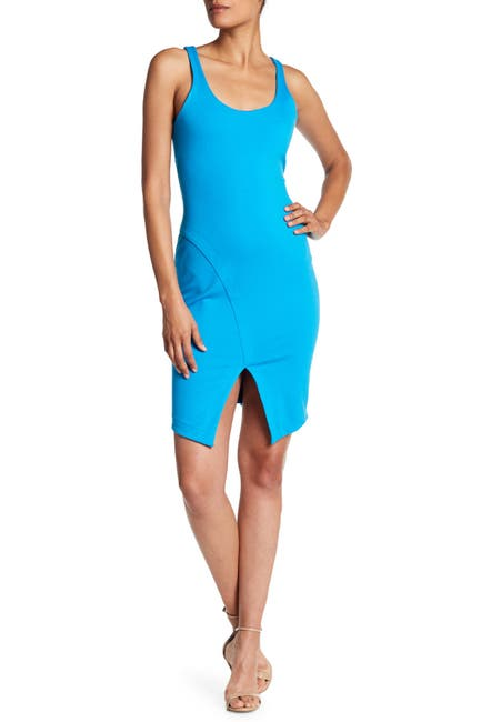 Image of Amanda Uprichard Alberta Scoop Neck Dress