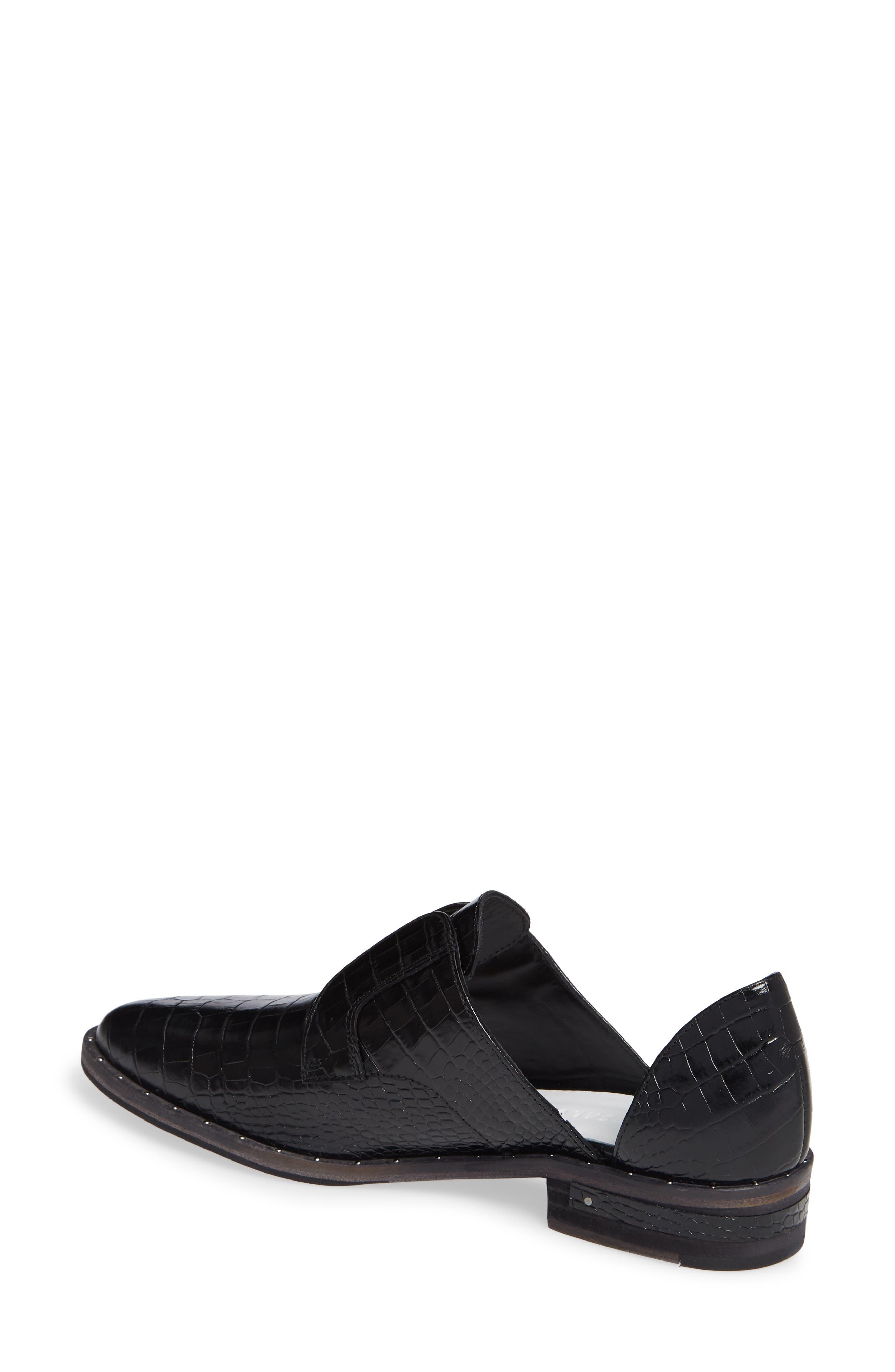 ,                             Wear d'Orsay Laceless Derby,                             Alternate thumbnail 2, color,                             BLACK CROC