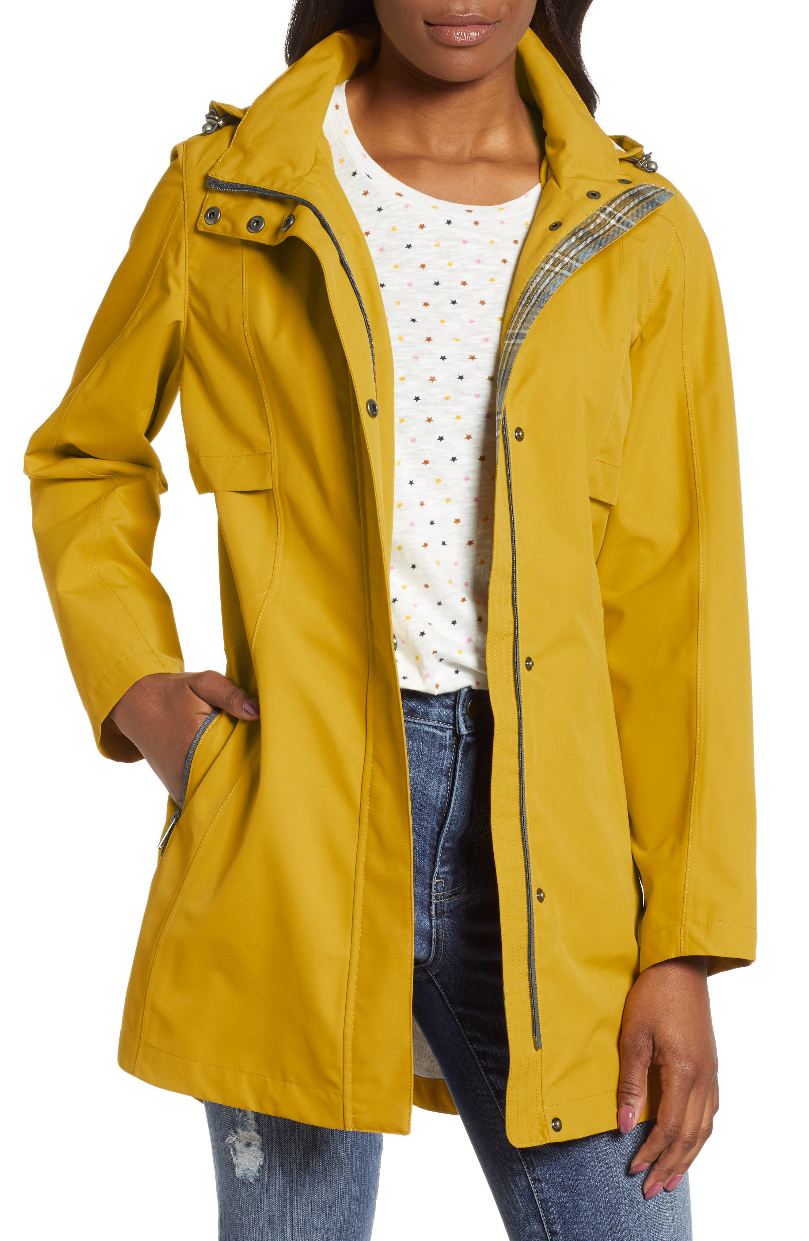 ,                             Josephine Water Repellent Hooded Jacket,                             Main thumbnail 8, color,                             701