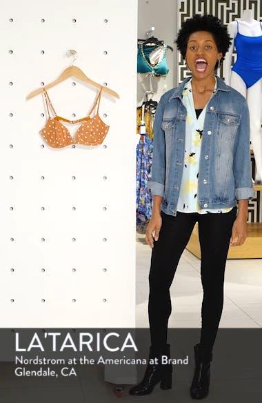 8423c51928 ... Hanalei Polka Dot Balconette Underwire Bikini Top, sales video  thumbnail ...