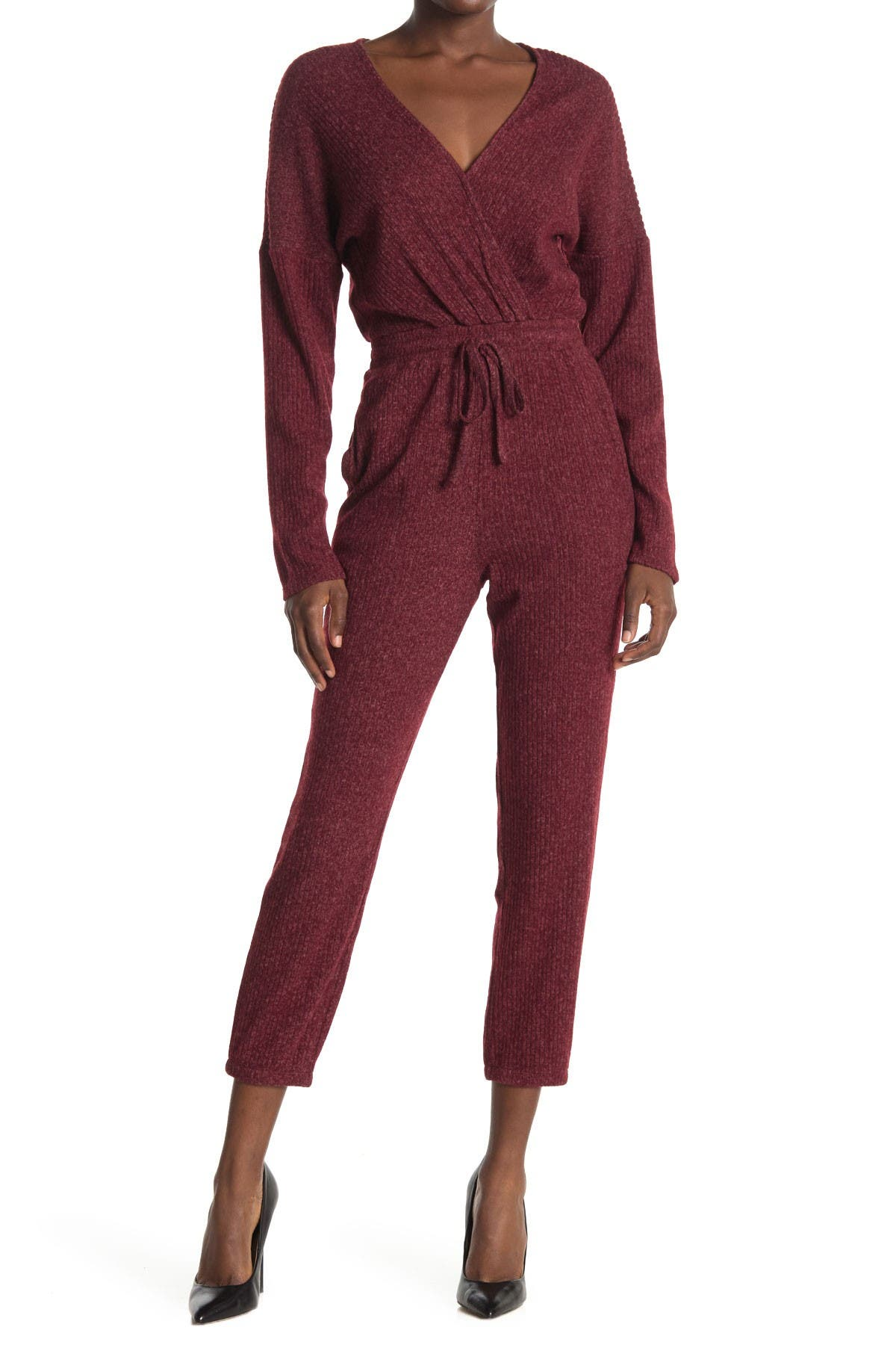 Image of Collective Concepts Knit Jumpsuit