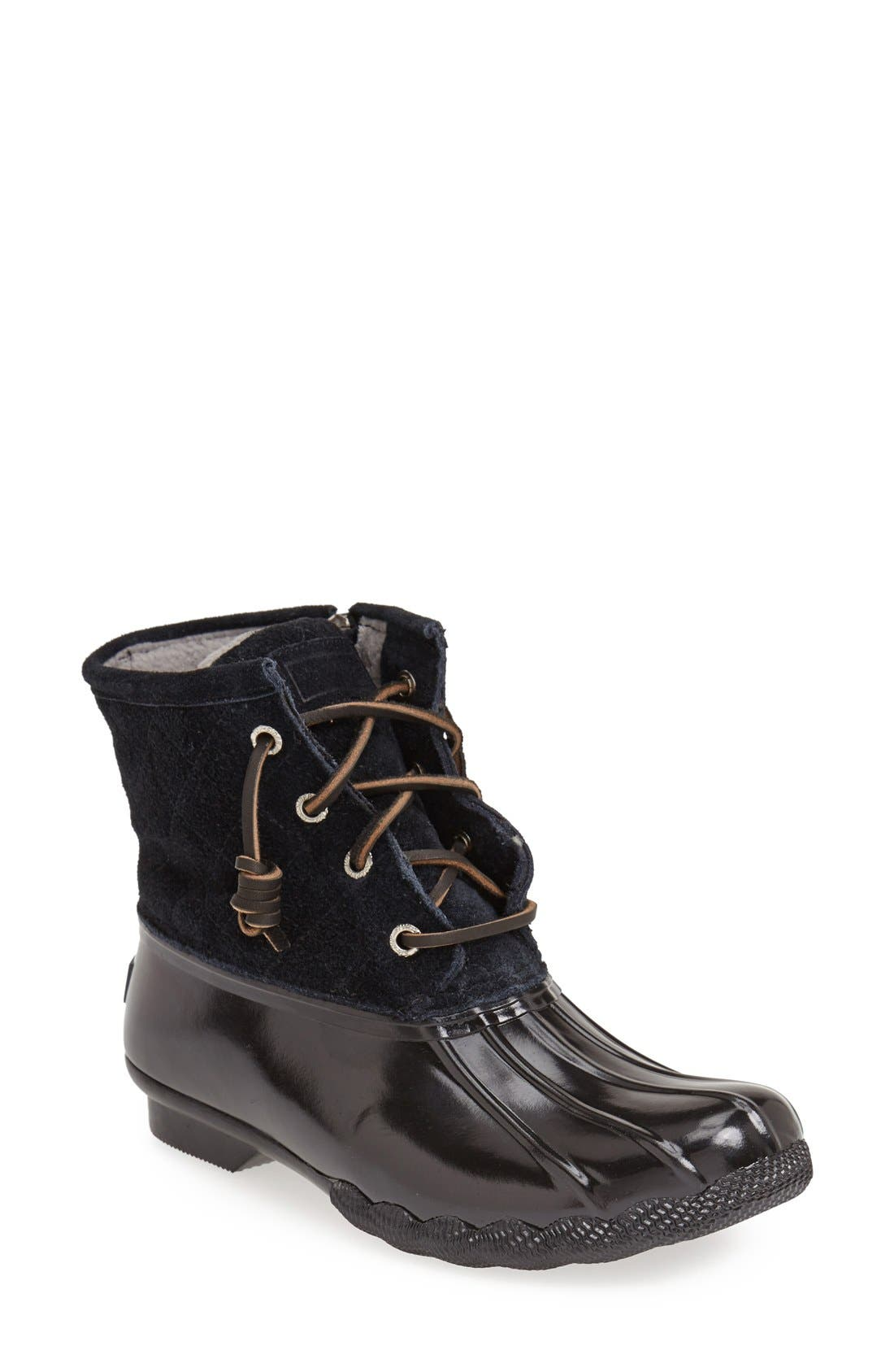 ,                             Saltwater Duck Boot,                             Main thumbnail 26, color,                             001