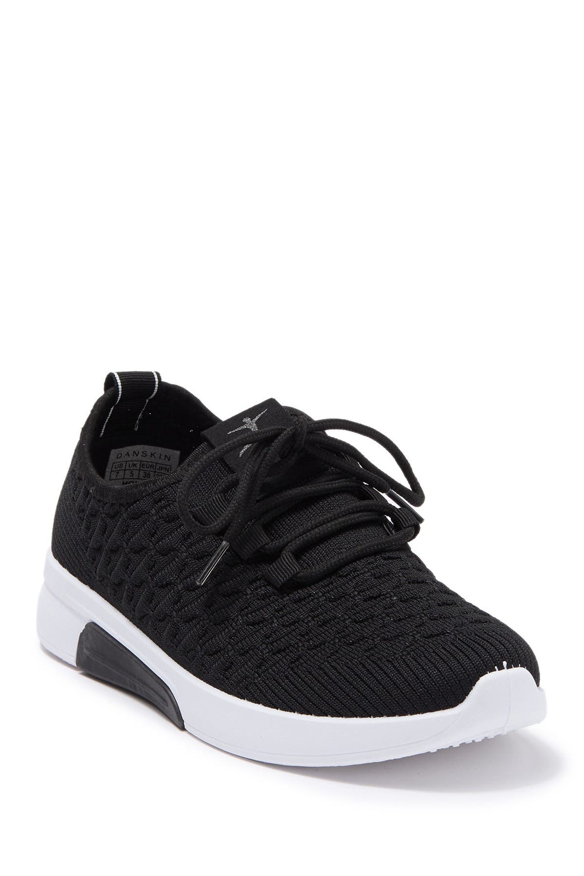 Image of DANSKIN Honor Textured Knit Sneaker