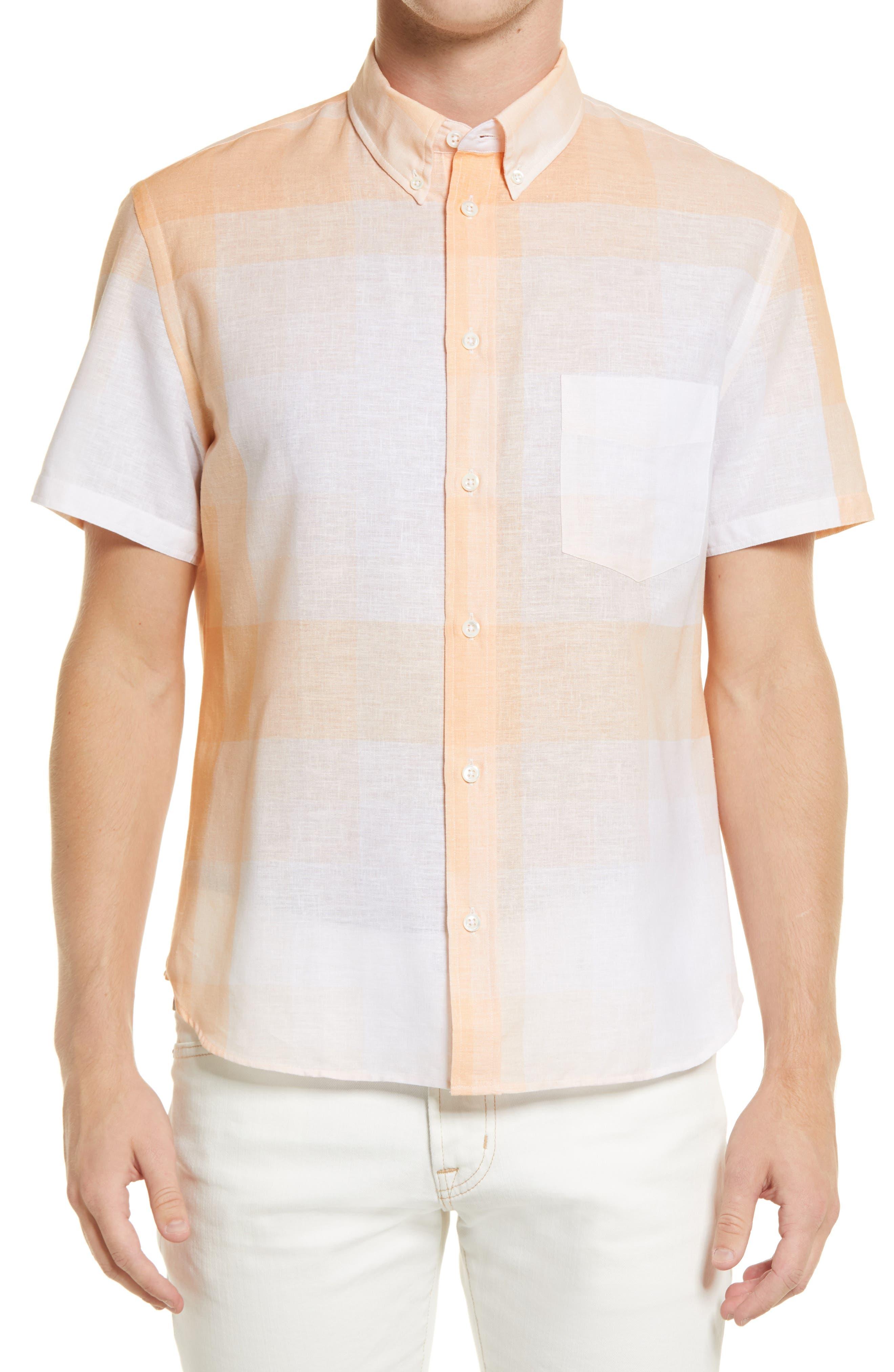 John Plaid Short Sleeve Shirt