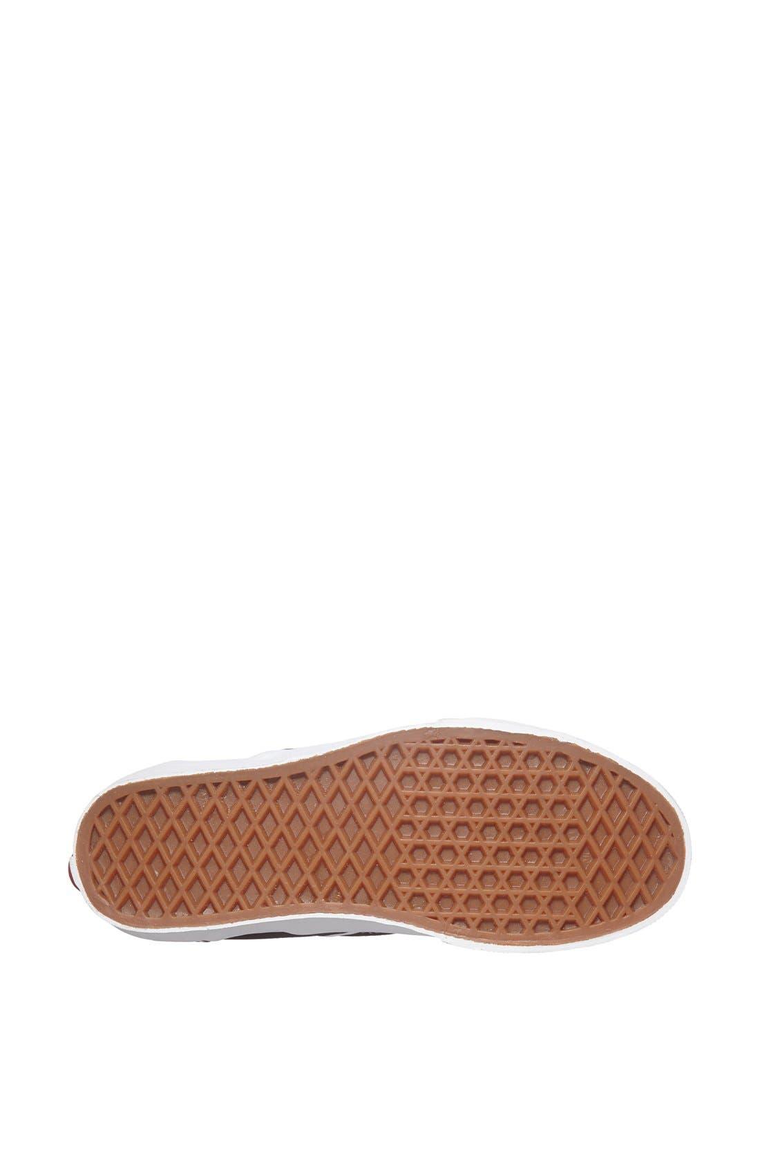 ,                             Classic Slip-On Sneaker,                             Alternate thumbnail 6, color,                             BLACK
