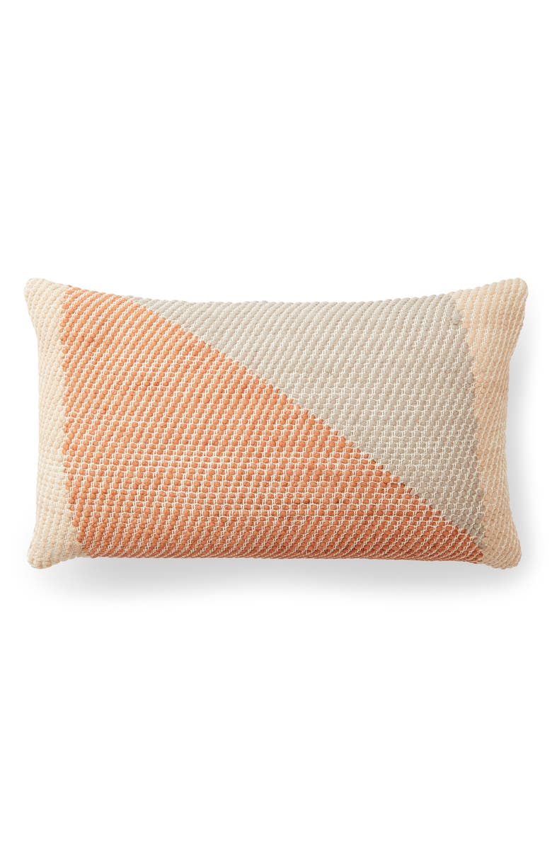 MINNA Angle Lumbar Pillow, Main, color, TERRACOTTA
