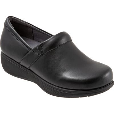 Softwalk Meredith Sport Clog, Black