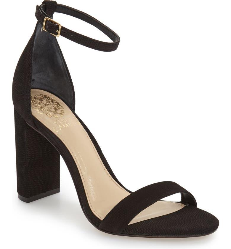 VINCE CAMUTO 'Mairana' Ankle Strap Sandal, Main, color, 001