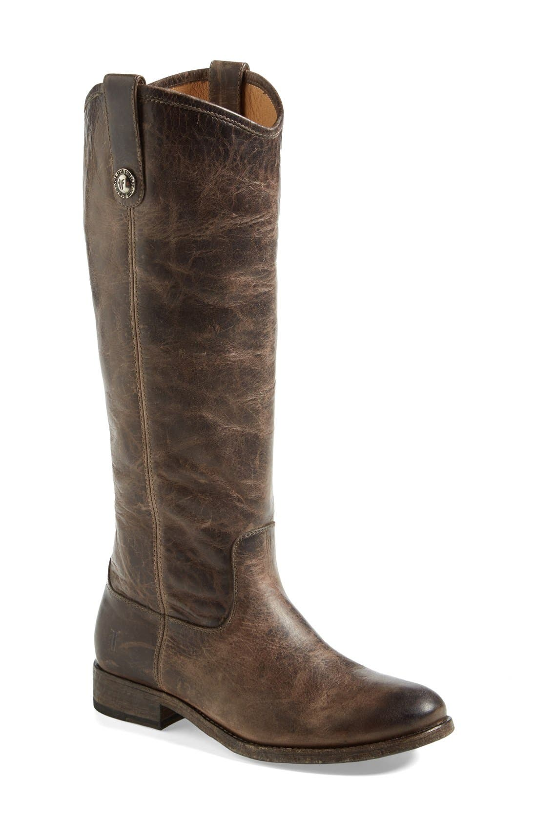 ,                             'Melissa Button' Leather Riding Boot,                             Main thumbnail 88, color,                             212