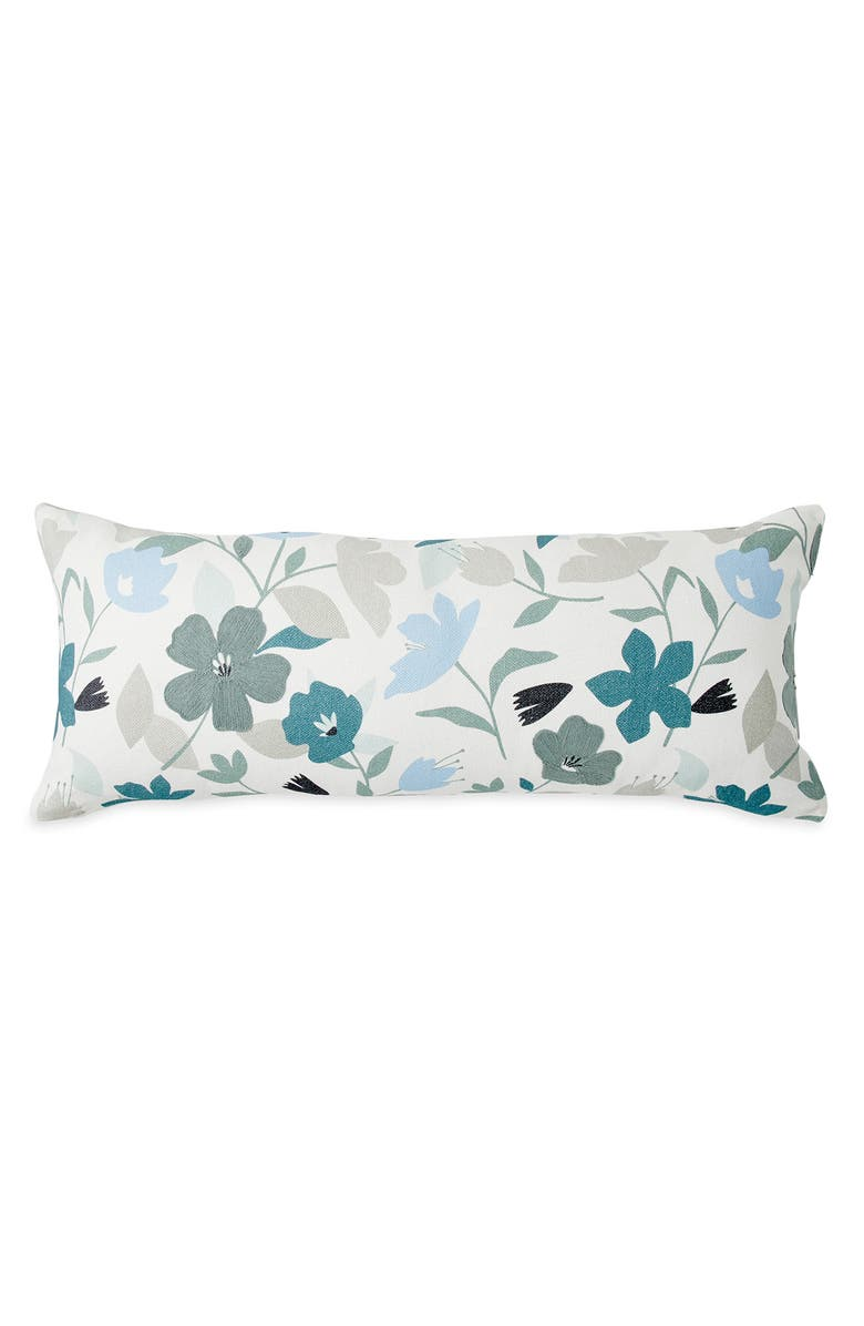 WELLBE Flora Scented Accent Pillow, Main, color, BLUE