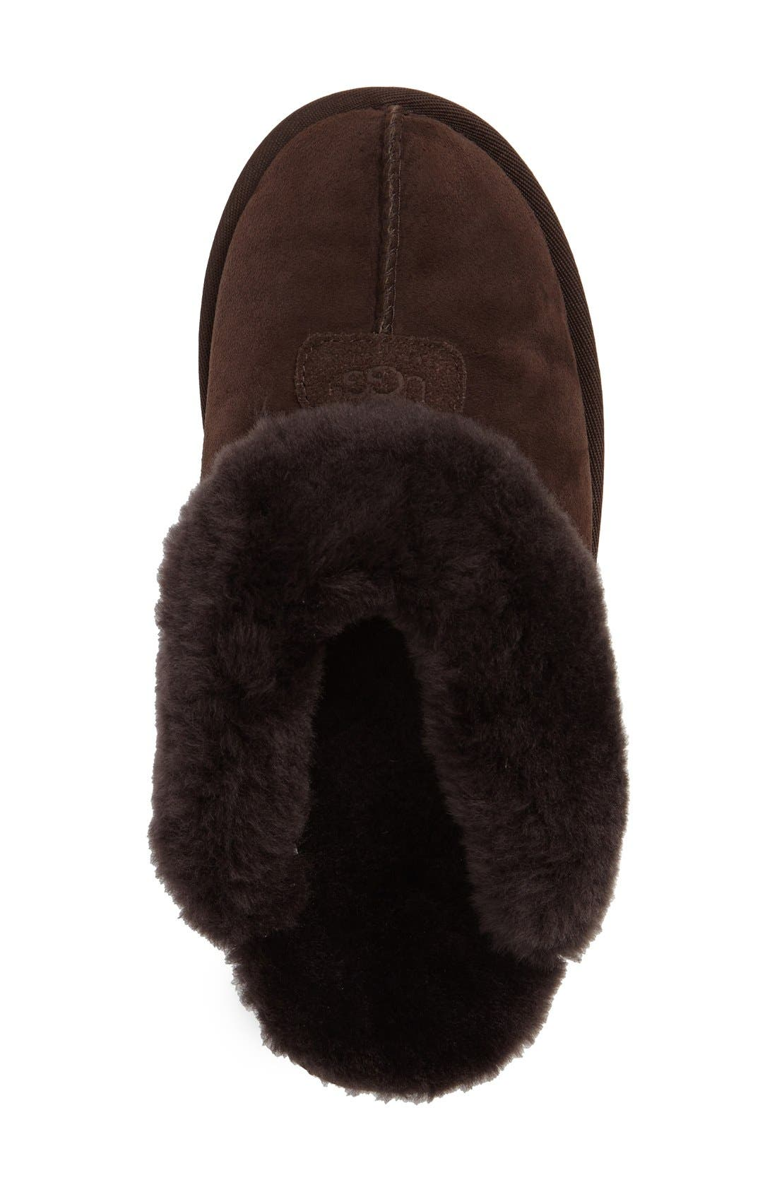 ,                             Genuine Shearling Slipper,                             Alternate thumbnail 171, color,                             CHO