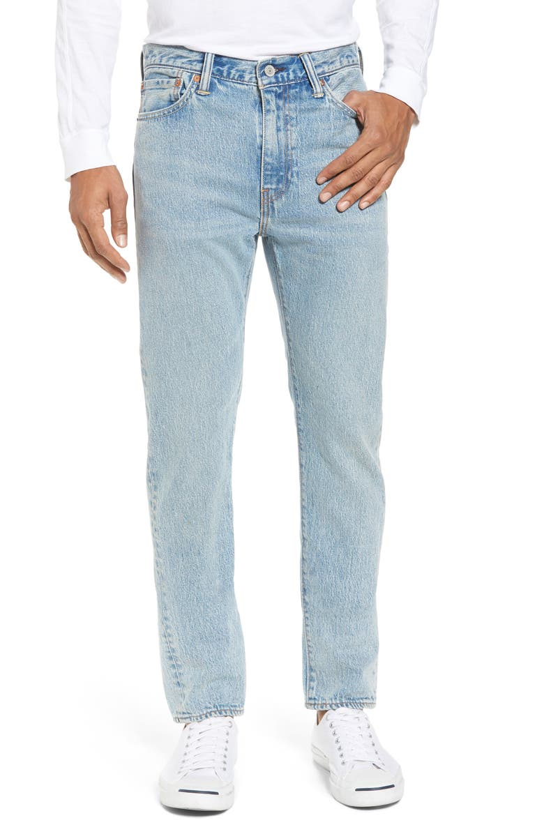 LEVI'S<SUP>®</SUP> 511<sup>™</sup> Slim Fit Jeans, Main, color, LIGHT BLUE JOES