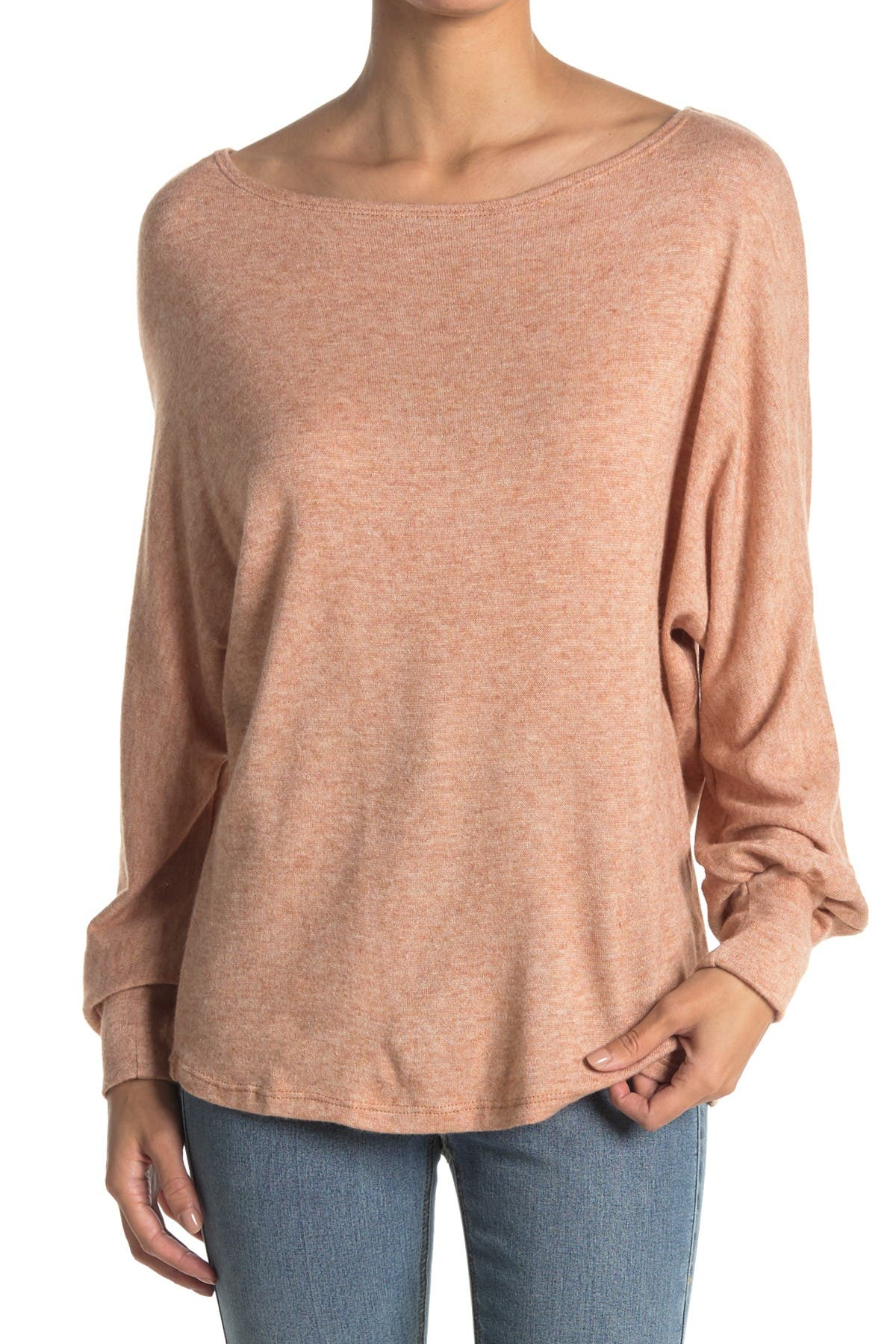 Image of Lush Boatneck Knit Sweater