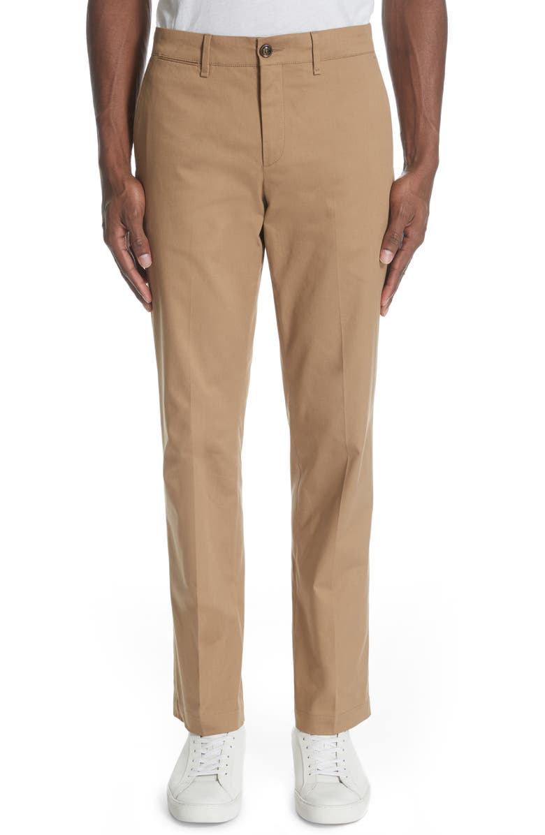 MONCLER Khaki Pants, Main, color, DARK BROWN