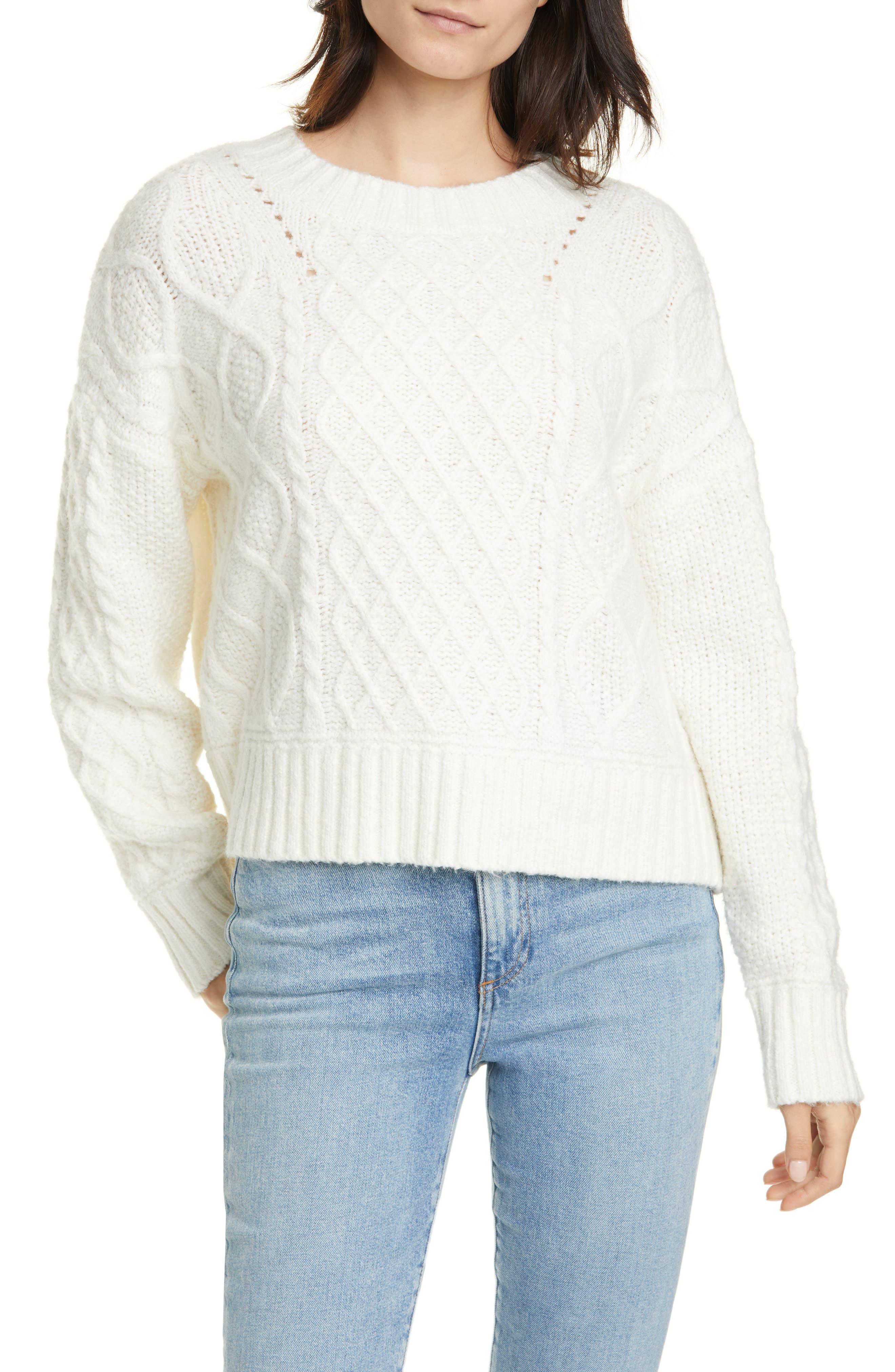 Image of Line Alva Tie Back Sweater