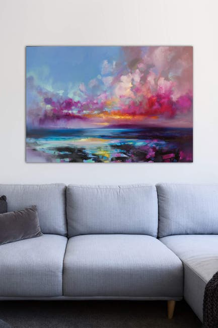 Image of iCanvas Arran Glow by Scott Naismith Wall Art
