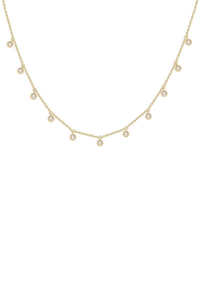 MISSOMA Interstellar Bezel Necklace, Main, color, GOLD