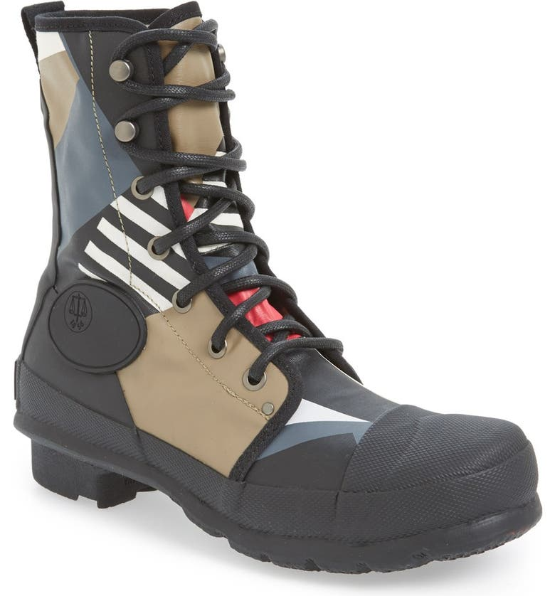 5374458d60a Hunter Original 'Dazzle Commando' Lace-Up Boot | Nordstrom