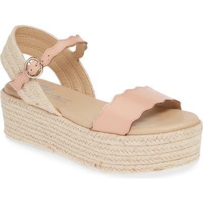 Sbicca Kiowa Platform Espadrille Sandal, Pink