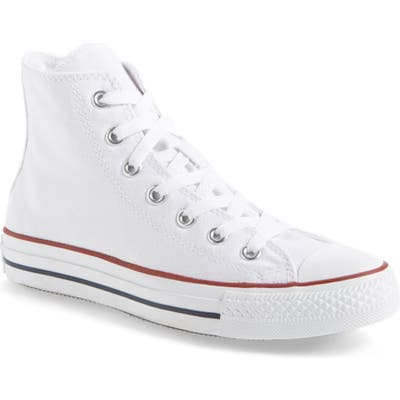Converse Chuck Taylor High Top Sneaker, White