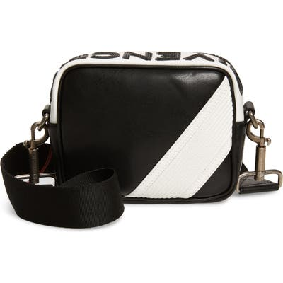 Givenchy Mc3 Leather Crossbody Bag - Black