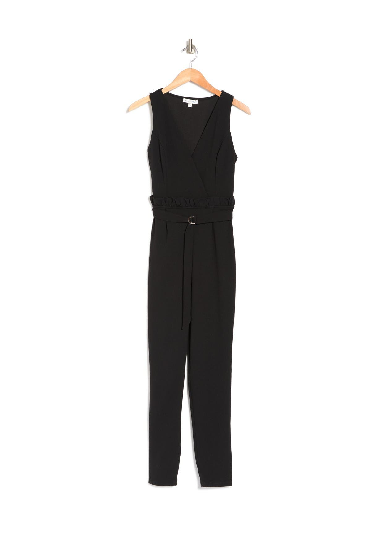 Image of BAILEY BLUE Belted Jumpsuit
