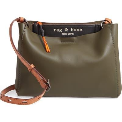 Rag & Bone Passenger Leather Crossbody Bag - Green