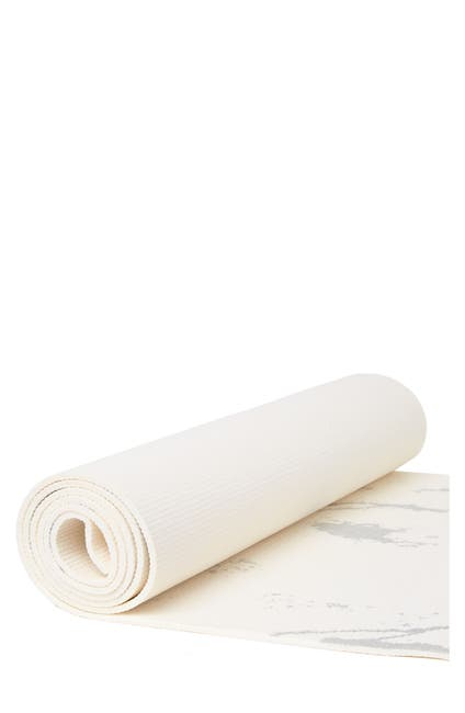 Image of OCI 5mm Thick Metallic Foiled Yoga Mat - Silver