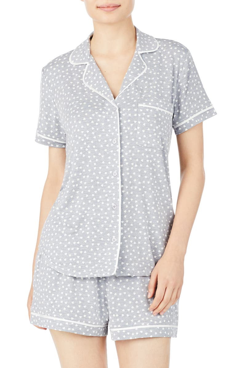 KATE SPADE NEW YORK short pajamas, Main, color, MINI HEART