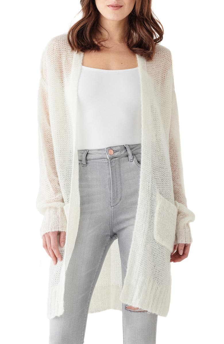 DL1961 x Marianna Hewitt Saratoga Cardigan, Main, color, CREAM