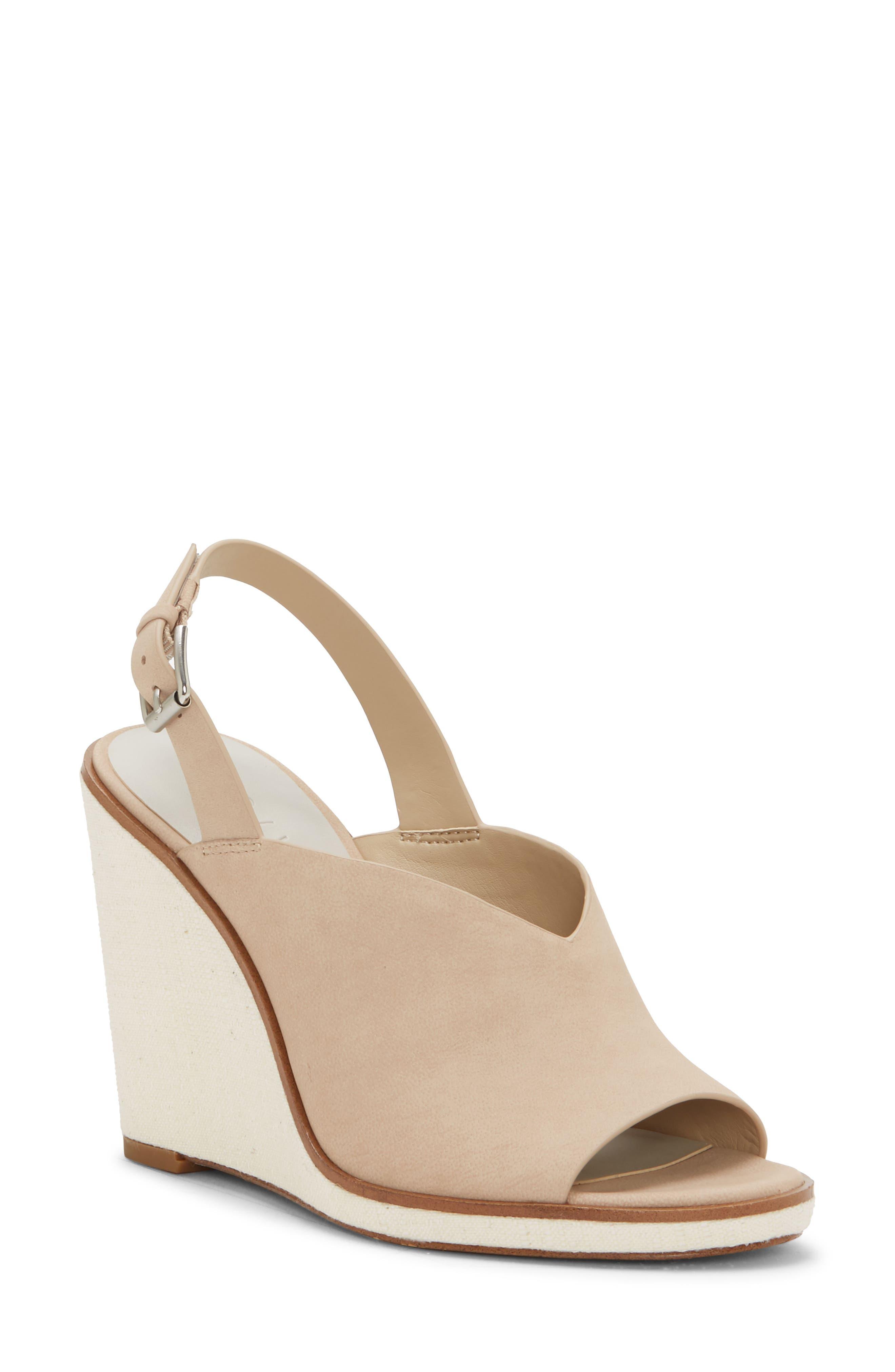 1.state Genna Wedge Sandal- Pink