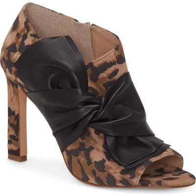 Louise Et Cie Idola Open Toe Bootie, Brown