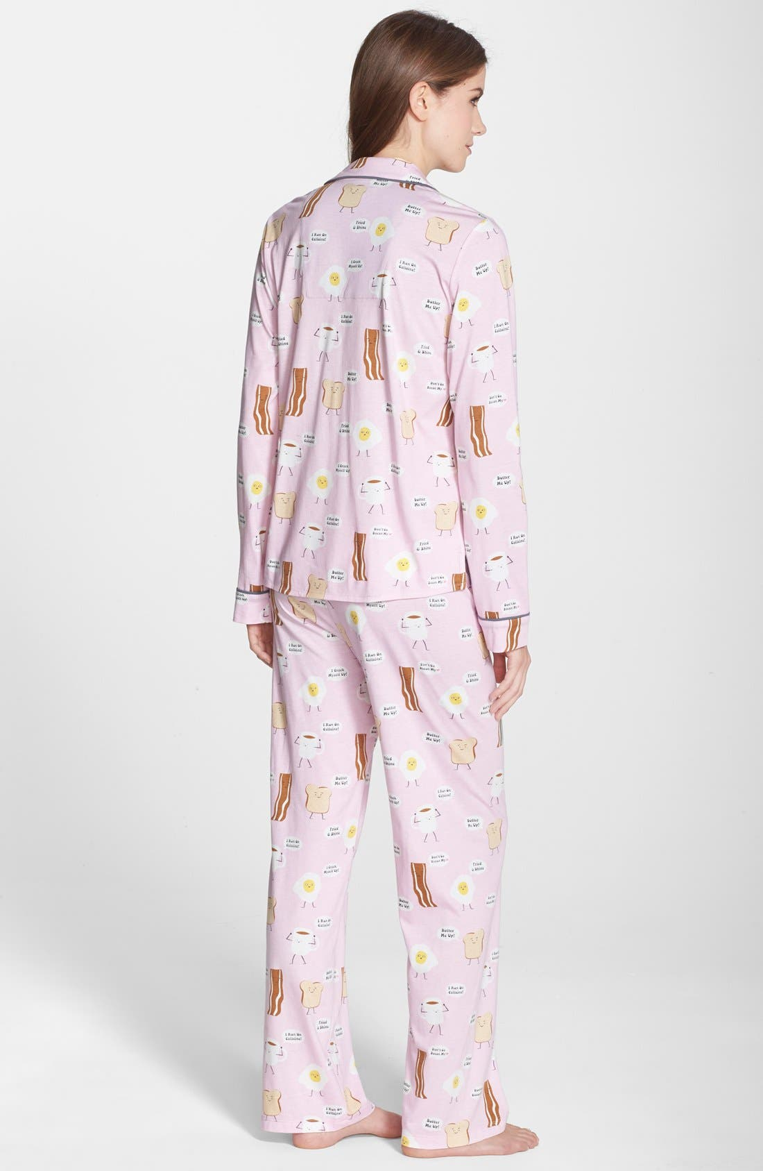 ,                             Print Jersey Pajamas,                             Alternate thumbnail 33, color,                             630