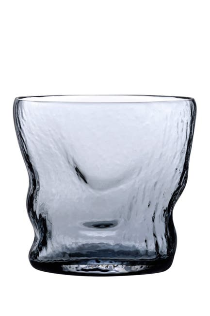 Image of Nude Glass Barduck Tumbler Glasses - Steel Blue - Set of 2