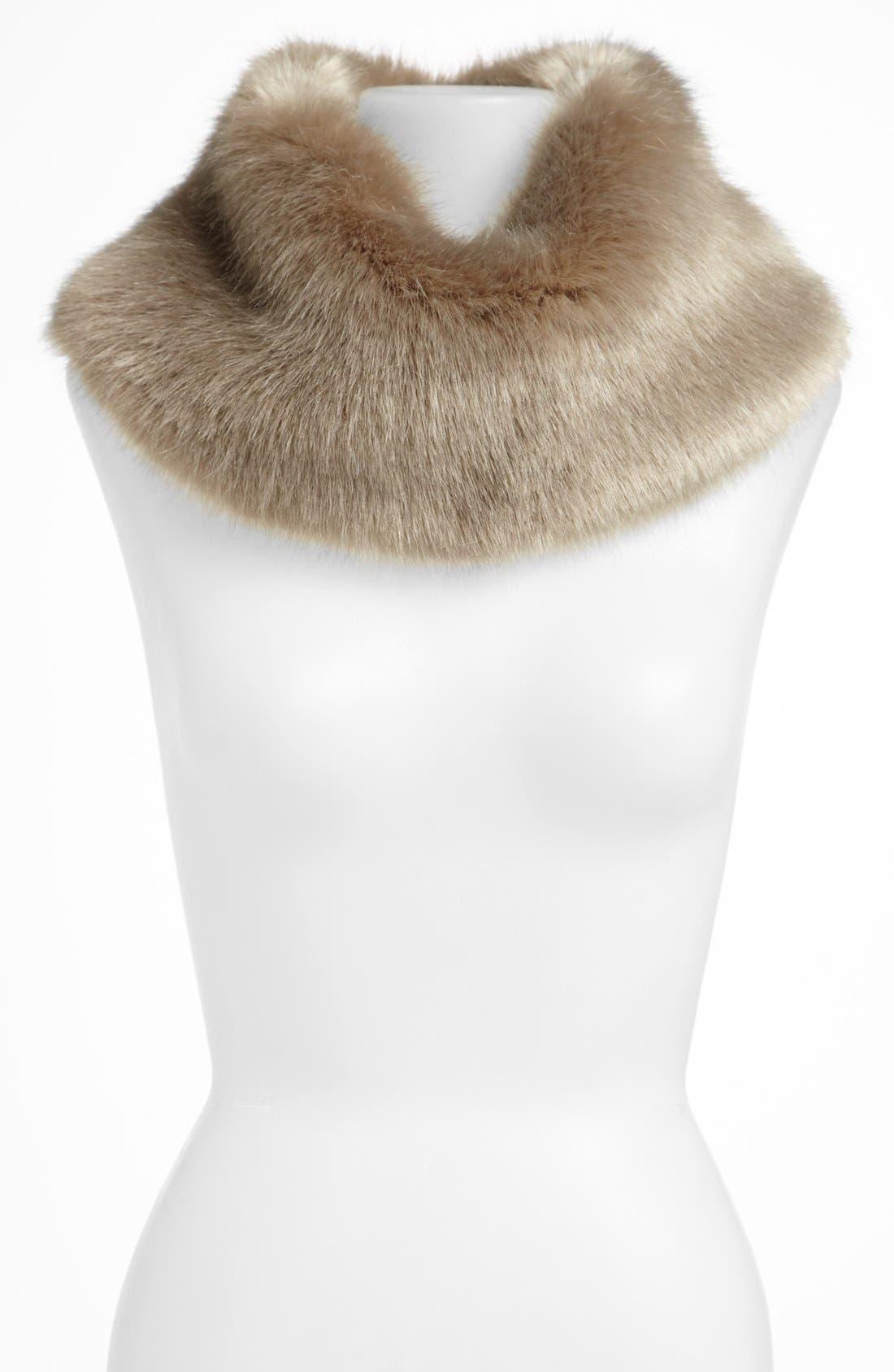 ,                             Faux Fur Collar,                             Main thumbnail 2, color,                             020