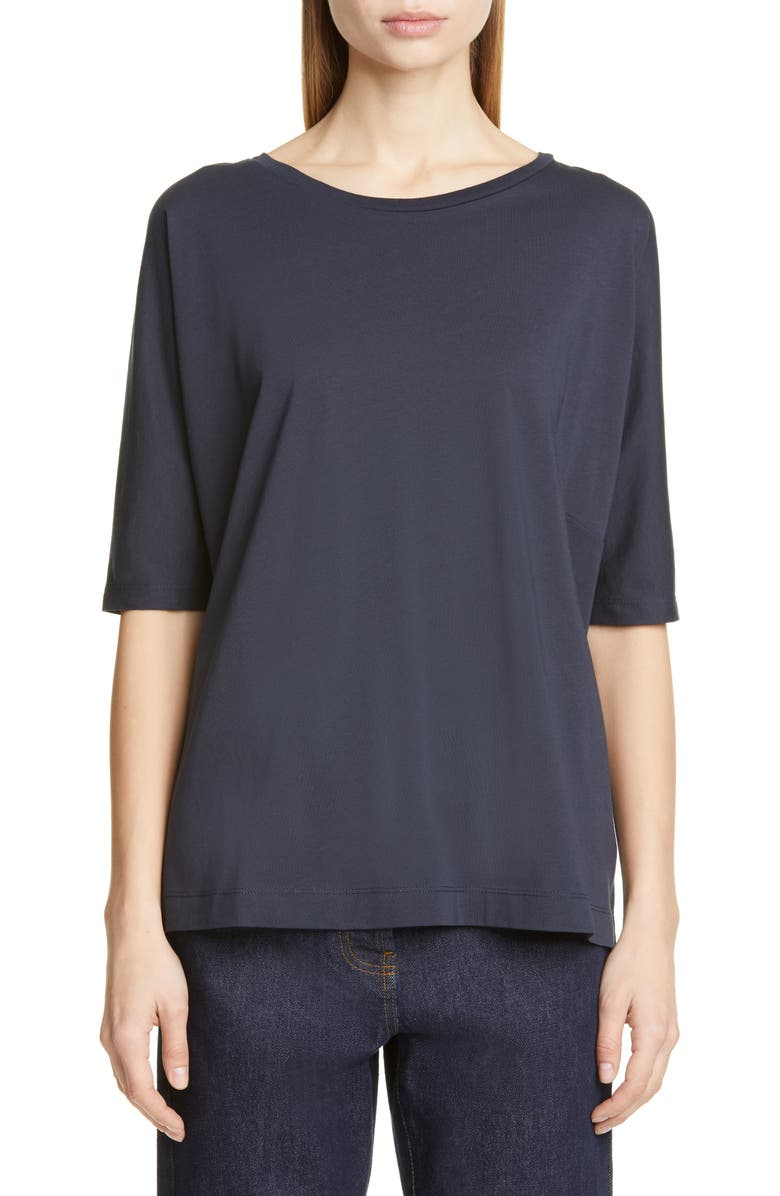 DRIES VAN NOTEN Hezzan Cotton Tee, Main, color, 400