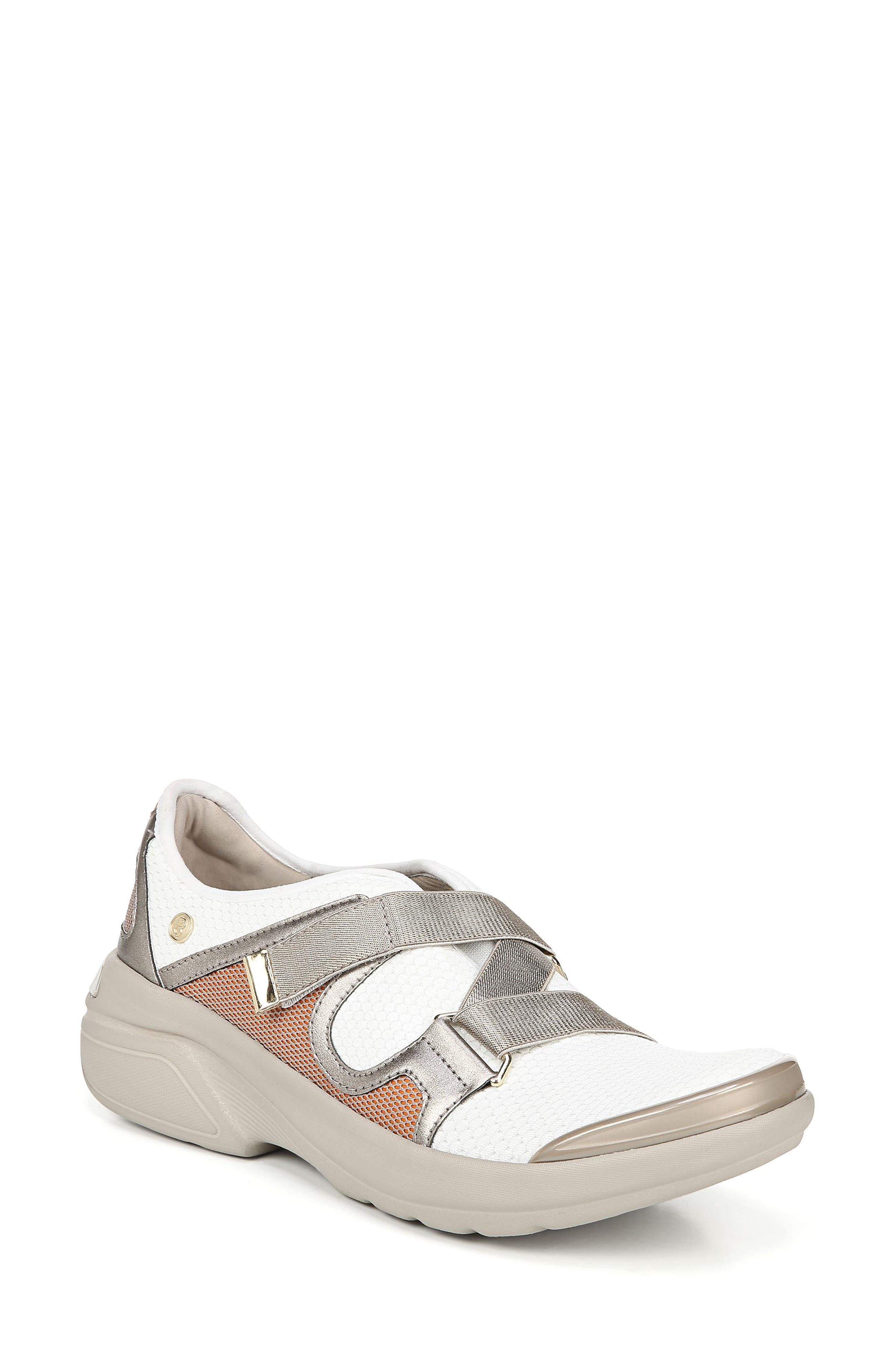 Bzees Offbeat Slip-On Sneaker- White