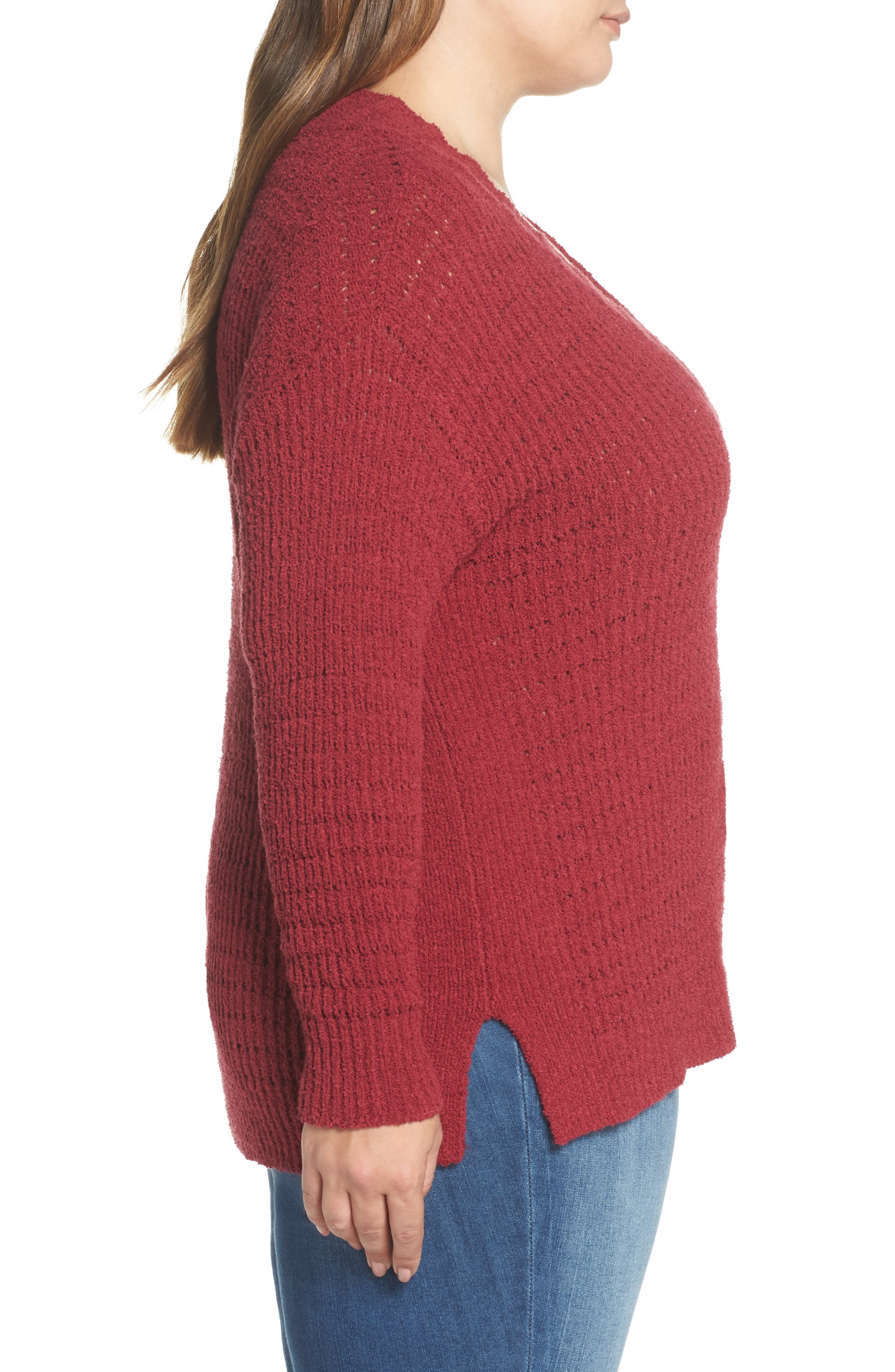 ,                             Tuck Stitch Sweater,                             Alternate thumbnail 9, color,                             601